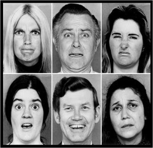 nonverbal communication for educators faces displaying different emotions